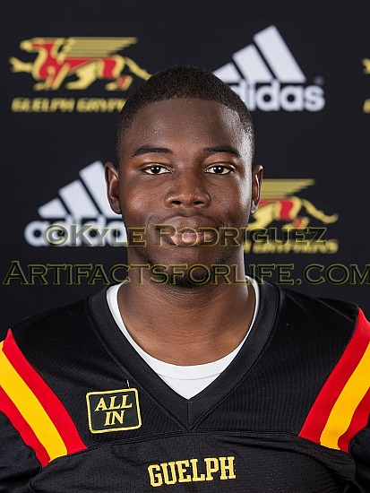 2018 Gryphon Football Headshots Aug 9 2018