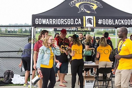 Game 1 Guelph vs Waterloo Aug 30 2015